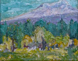 "Black Butte Ranch Meadow (1) 8"" x 10"" – Oil Original – $250"