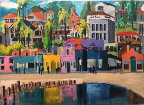 "Capitola 33"" x 47"" – Oil Original – $950 – SOLD"